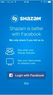 shazamfacebooklogin